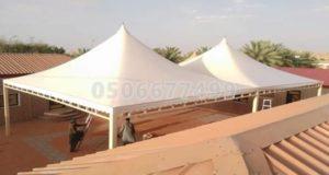 مظلات حي الملك فهد